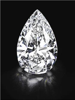 largest colorless flawless diamond