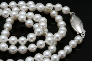 saltwater pearl necklace